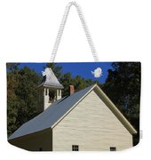 Cades Cove Primitive Baptist Church Weekender Tote Bag by Dan Sproul