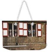 Canal Scene Weekender Tote Bag