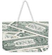 Carpet Of One Dollar Bills Weekender Tote Bag