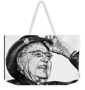 Carroll Shelby In 2006 Weekender Tote Bag