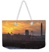 Castle Of Saint Sebastian Cadiz Spain Weekender Tote Bag