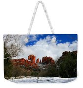 Cathedral Chill Weekender Tote Bag