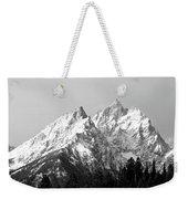 Cathedral Group Grand Teton National Weekender Tote Bag