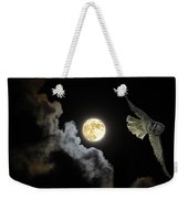 Caught By The Moon Weekender Tote Bag