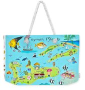Cayman Islands Weekender Tote Bag