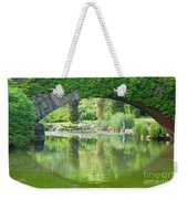Central Park Gapstow Bridge II Weekender Tote Bag
