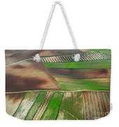 Cereal Fields From The Air Weekender Tote Bag