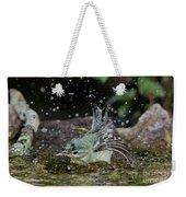Cerulean Warbler Weekender Tote Bag