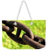 Chain Weekender Tote Bag
