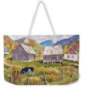 Charlevoix North Weekender Tote Bag