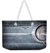 Chevrolet Corvair Emblem Weekender Tote Bag