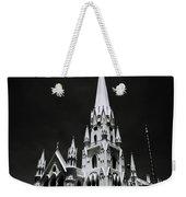 Black And White Basilica Weekender Tote Bag