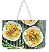 Chicken Noodles Weekender Tote Bag