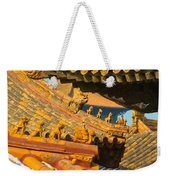 China Forbidden City Roof Decoration Weekender Tote Bag