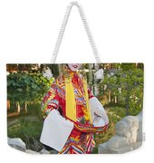 Chinese Opera Girl - In Full Traditional Chinese Opera Costumes. Weekender Tote Bag