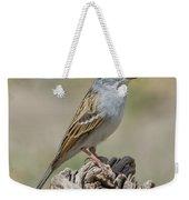 Chipping Sparrow Weekender Tote Bag