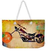 Chopper Art Weekender Tote Bag