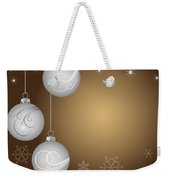 Christmas Background Weekender Tote Bag