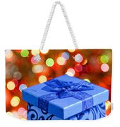 Christmas Box Weekender Tote Bag