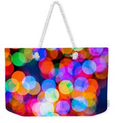 Christmas Lights Weekender Tote Bag