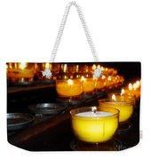 Church Candles Weekender Tote Bag