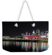 Cincinnati Skyline 3 Weekender Tote Bag