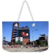 Citizens Bank Park - Philadelphia Phillies Weekender Tote Bag by Frank Romeo