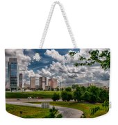 City Streets Of Charlotte North Carolina Weekender Tote Bag
