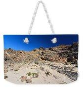 cliff in San Pietro island Weekender Tote Bag