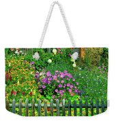 Close-up Of Flowers, Muren, Switzerland Weekender Tote Bag