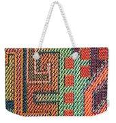 Cloth Pattern Weekender Tote Bag