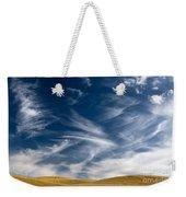 Clouds And Field Weekender Tote Bag