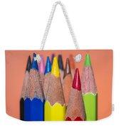 Color Pencil Weekender Tote Bag