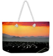 Colorado Sunset Weekender Tote Bag