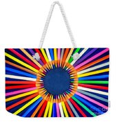Colorful Pencils Weekender Tote Bag