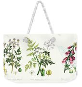 Common Poisonous Plants Weekender Tote Bag by English School