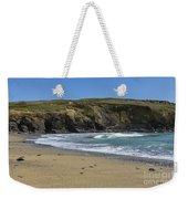 Cornish Seascape Gunwalloe Weekender Tote Bag