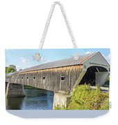 Cornish-windsor Covered Bridge IIi Weekender Tote Bag