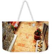 Courtyard Of A Villa Weekender Tote Bag by Elena Elisseeva