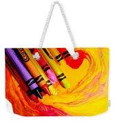 Crayon Soup Weekender Tote Bag