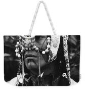 Crow Native American Traditional Dress Rodeo Gallup New Mexico 1969 Weekender Tote Bag