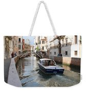Cruisin' The Canals Weekender Tote Bag