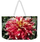 Dahlia Named Bodacious Weekender Tote Bag