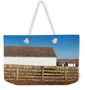 Dairy Buildings At Historic Pierce Weekender Tote Bag
