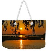 Dancing Light Weekender Tote Bag by Frozen in Time Fine Art Photography
