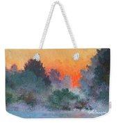 Dawn Mist Weekender Tote Bag