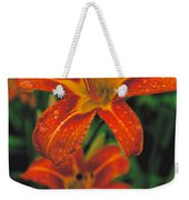 Day Lilly Weekender Tote Bag