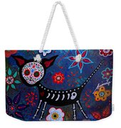 Day Of The Dead Chihuahua Weekender Tote Bag