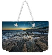 Day's End At Scoodic Point Weekender Tote Bag