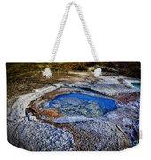 Dead Sea Sink Holes Weekender Tote Bag by Dan Yeger